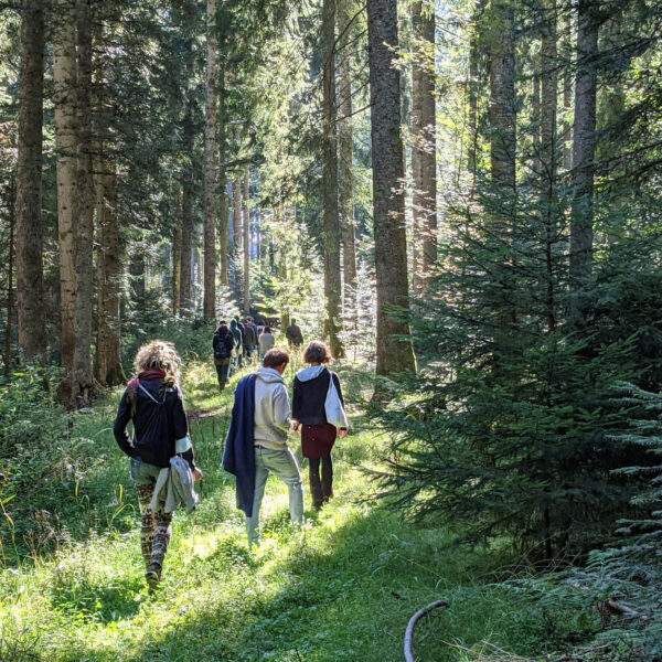 """Naturtherapie- Workshop beim Kongress """"Naturverbundenheit- Naturentfremdung"""""""